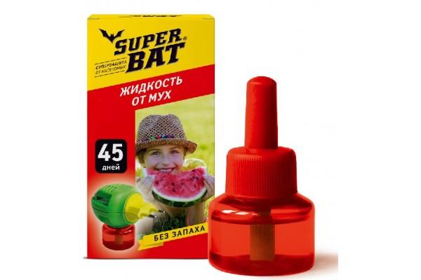 SuperBAT Жидкость от мух дополнительный флакон, 45 дней, 30мл.